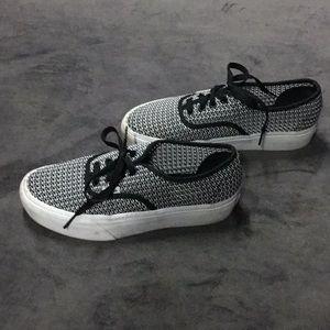 Mesh Vans platform sneakers